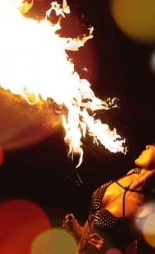 Feuershows Erfurt