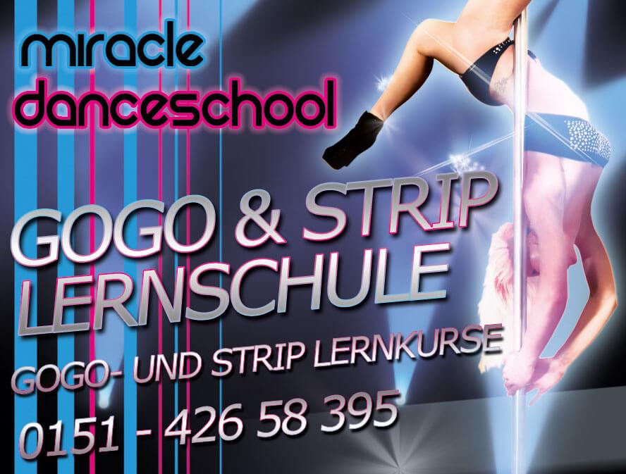 Gogo Schule - Strip Schule in NRW